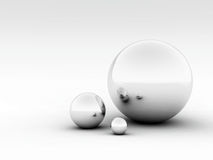 3D Balls Stock Images