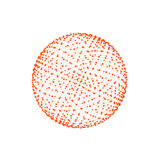 3d balls. On a white background Royalty Free Stock Photos