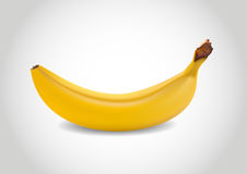 3d banan Ilustracji