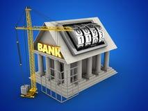 3d bank Zdjęcia Stock