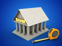 3d bank Obrazy Royalty Free