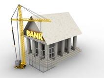 3d bank Zdjęcie Stock