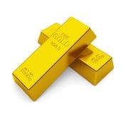 3d barów złota hq odpłaca się odpłacać się Fotografia Stock