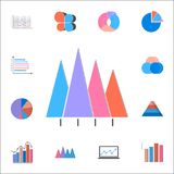 3D bar chart icon. Detailed set of Charts & Diagramms icons. Premium quality graphic design sign. One of the collection icons for. 3D bar chart icon. Detailed Royalty Free Stock Photo