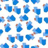 3D bar charticon in patroonstijl Één van Grafieken & Diagramms-het inzamelingspictogram kunnen voor UI, UX worden gebruikt Vector Illustratie