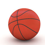3d Basket ball. 3d rendering Basket ball isolated Royalty Free Stock Photography