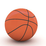 3d Basket ball. 3d rendering Basket ball on white background Royalty Free Stock Photos