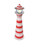 3d  beacon  isolated. On white background Stock Photography