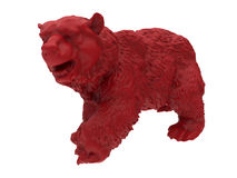 3D bear illustration Royalty Free Stock Image