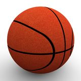 3d beeld De bal van het basketbal Royalty-vrije Stock Fotografie