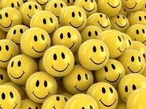 3d beeld van Smileys royalty-vrije illustratie