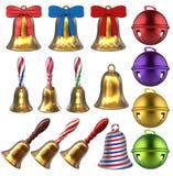 3D Bells Set Stock Image