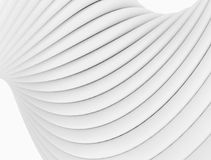 3d bend shape abstract background Stock Photos