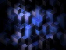 3d berechnet des abstrakten Hintergrundes vektor abbildung