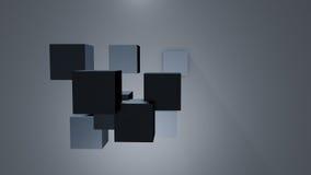 3D berechnet Hintergrundes Lizenzfreie Stockfotografie