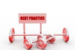3d best practice Stock Images