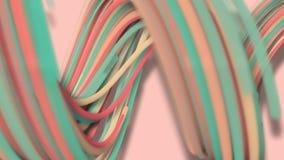3D Bewegung, 3D Wiedergabe, abstrakter geometrischer Hintergrund, Linien die Kreispunkte sind zusammen sehr nah Bis das Sehen ein lizenzfreie abbildung