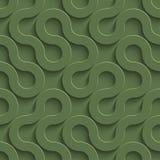 3D Bezszwowy wzór w Kale kolorze ilustracji