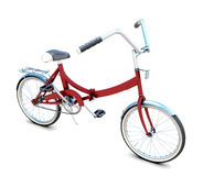 3D Bicycle. On white background. 3d illustration Stock Photos