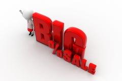 3d big sale Stock Photos