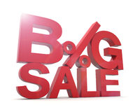 3D - Big Sale 1 Stock Images