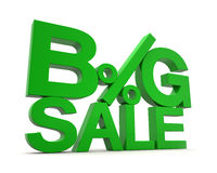 3D - Big Sale 3 Royalty Free Stock Photo