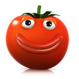 3d Big smile tomato Stock Photo