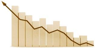 3d biznesu przyrost royalty ilustracja