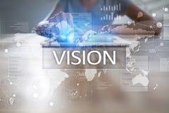 3d bizneswomanu pojęcia ręka target4621_0_ wzroku słowo Biznesu, interneta i technologii pojęcie, Zdjęcia Stock