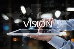 3d bizneswomanu pojęcia ręka target4621_0_ wzroku słowo Biznesu, interneta i technologii pojęcie, Zdjęcie Royalty Free