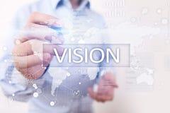 3d bizneswomanu pojęcia ręka target4621_0_ wzroku słowo Biznesu, interneta i technologii pojęcie, Obraz Stock