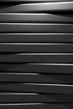 3d black bars. 3d rendering of an abstract composition with a lot of black bars Stock Photo