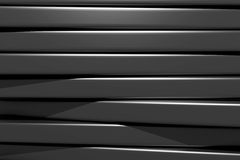 3d black bars. 3d rendering of an abstract composition with a lot of black bars Stock Image