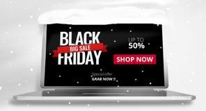 3d Black Friday geeft terug Royalty-vrije Stock Afbeeldingen
