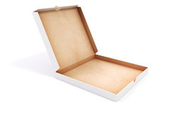 3d blank packing boxes for pizza Royalty Free Stock Photography