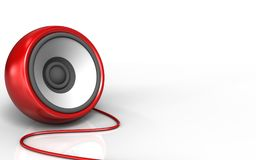 3d blank speaker Stock Photo