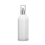 3d blank spray bottle. On white background Stock Image