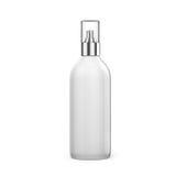 3d blank spray bottle Stock Image