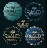 D'or bleu de produit de haute qualité Images libres de droits