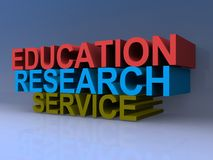 Education research service Stock Photos