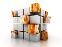 3D blocks Stock Photos