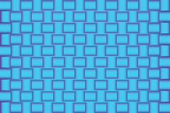 3d blue abstract Pattern background. Vector art Royalty Free Stock Images