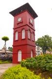 Dębny Beng Swee Clocktower, melaka, Malaysia Obrazy Royalty Free