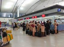 Dębny syna Nhat lotnisko w Saigon, Wietnam Obraz Royalty Free