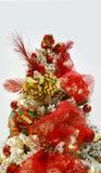 3d bożych narodzeń wizerunku odosobniony drzewny biel Obraz Royalty Free