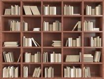 3d boekenrek Royalty-vrije Stock Afbeeldingen