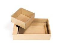 3d boksuje karton wytwarzającego wizerunek Fotografia Royalty Free
