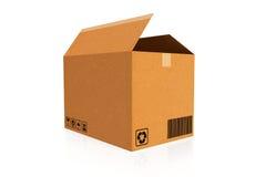 3d boksuje karton wytwarzającego wizerunek Obrazy Royalty Free