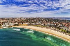 D Bondi Beach Arc 2 CBD Royalty Free Stock Image