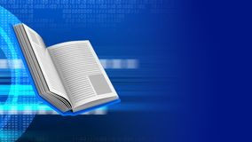 3d book Stock Photography